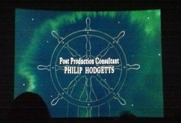 My first (and likely last) big screen credit moment. 9/5/10