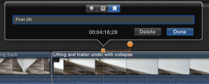 Final Cut Pro X's chapter markers