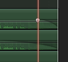 Audio fade handles on components is a nice feature to have.