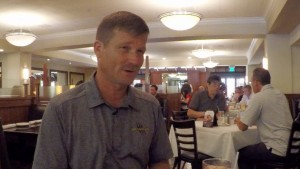 Lunch with Terry Curren